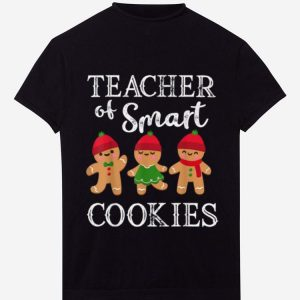 Awesome Teacher Of Smart Cookies Funny Teacher Christmas Gift shirt