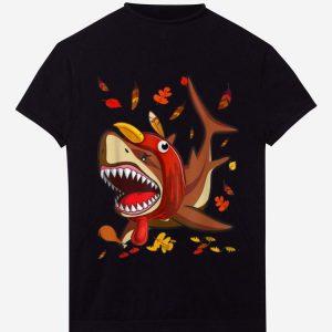 Awesome Thanksgiving Shark Doo Doo Doo Turkey Costume Kids Gift Boys shirt