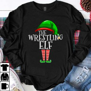 Awesome The Wrestling Elf Family Matching Group Christmas Gift Funny shirt