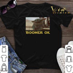 Baby Yoda Boomer Ok Star Wars shirt sweater