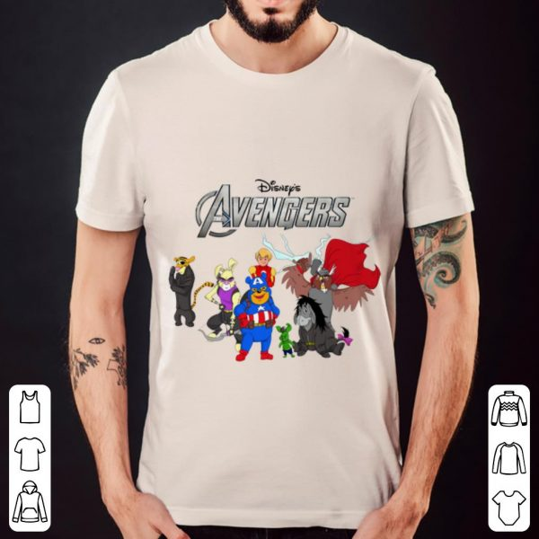 Beautiful Disney Winnie The Pooh Marvel Avengers Endgame shirt