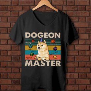 Beautiful Shiba Dogeon Master Dog Lover Vintage shirt