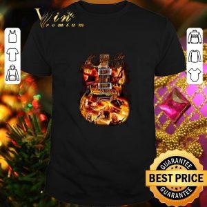 Best Judas Priest guitarist signatures shirt
