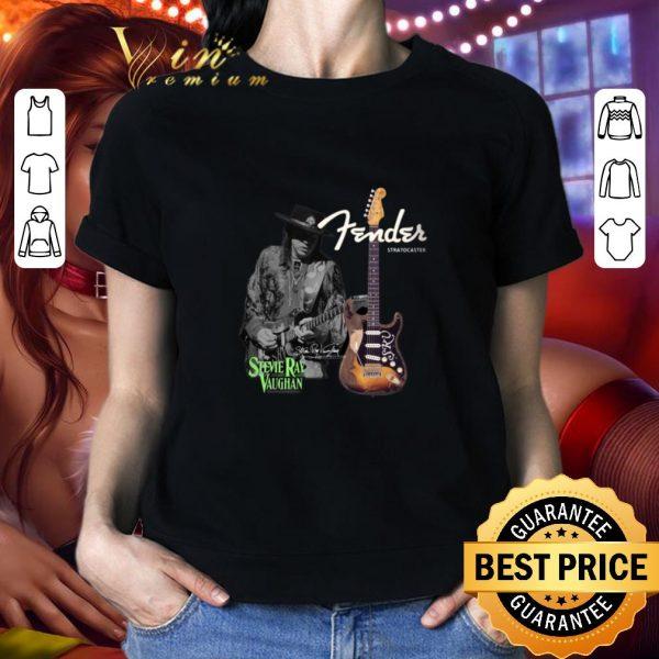 Best Stevie Ray Vaughan Fender Stratocaster Guitars shirt
