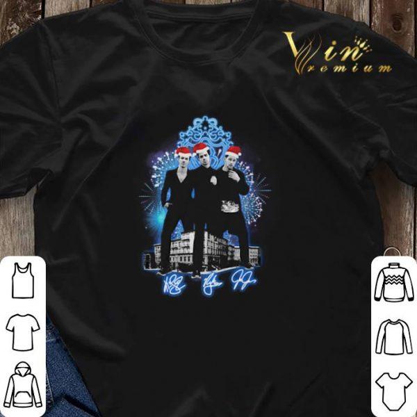 Christmas Jonas Brothers signatures shirt