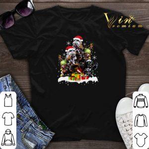 Christmas tree Chibi Boba Fett Darth Vader Stormtrooper shirt