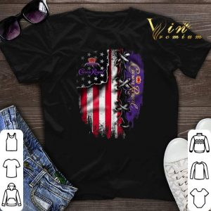 Crown Royal American flag shirt