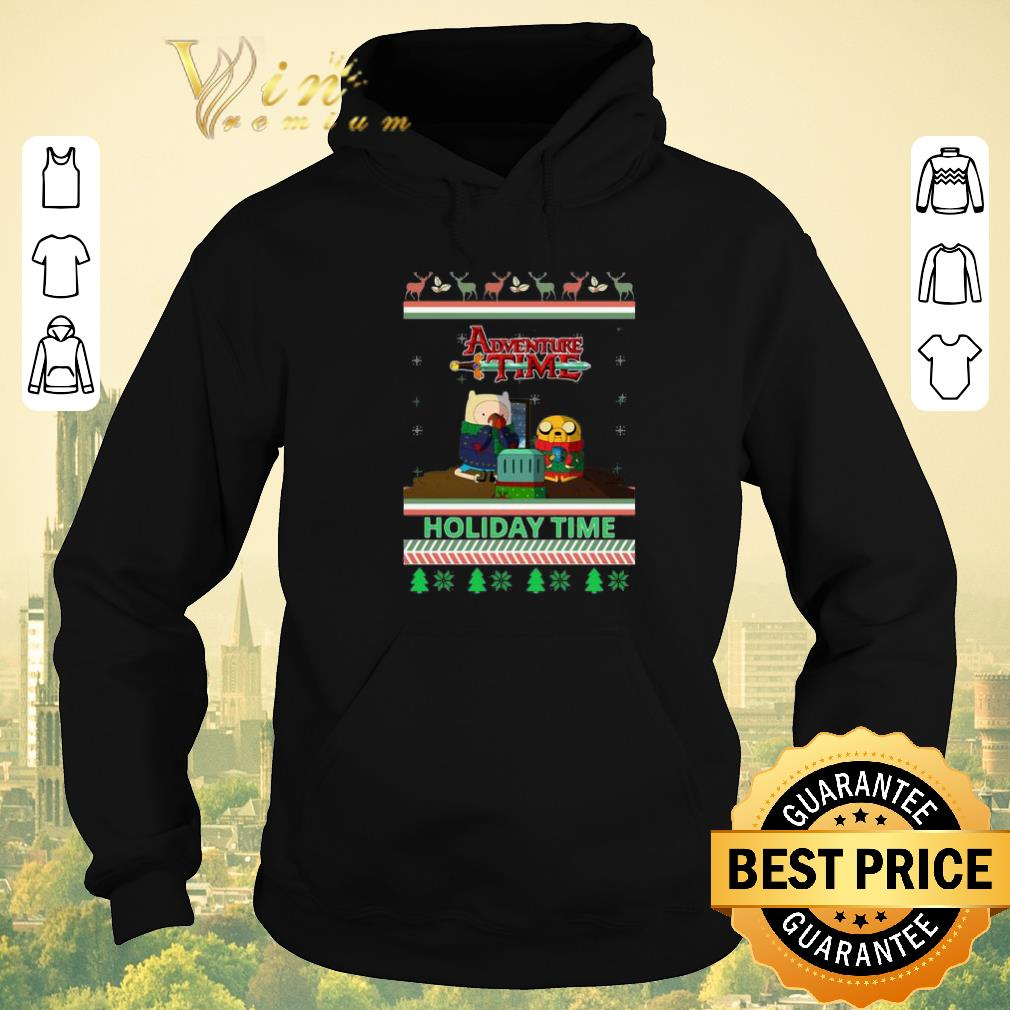 Funny Adventure Time Holiday Time Ugly Christmas shirt sweater 4 - Funny Adventure Time Holiday Time Ugly Christmas shirt sweater