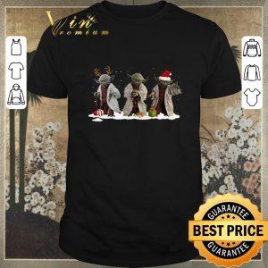 Funny Christmas Three Yoda Star Wars shirt
