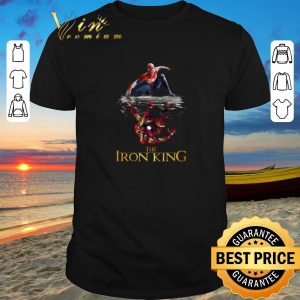 Funny Spider Man reflection Iron Man The Iron King shirt sweater 2019