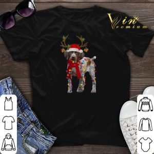 German Shorthaired Pointer reindeer Christmas shirt sweater