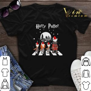 Harry Potter Abbey Road Christmas shirt sweater
