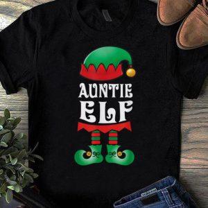 Hot Auntie Elf Matching Family Christmas Pajamas Elves shirt