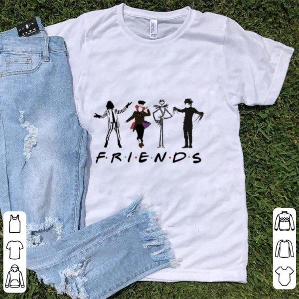 Hot Beetlejuice Hatter Jack Skellington Edward Scissorhands Friends TV show shirt