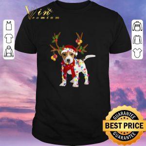 Hot Christmas Jack Russell Reindeer shirt