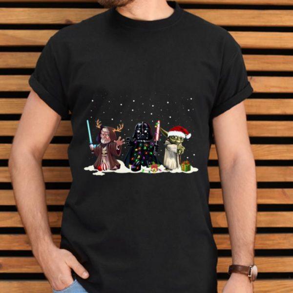 Hot Darth Vader Yoda Palpatine Star Wars Christmas shirt
