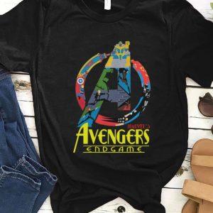 Hot Marvel Avengers Endgame logo full colors shirt
