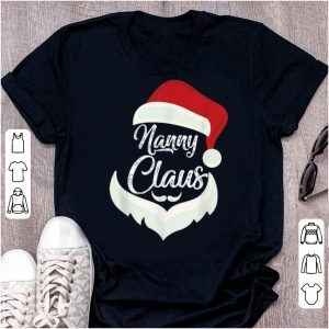 Hot Nanny Claus Christmas Pajamas Santa Costume Gift shirt