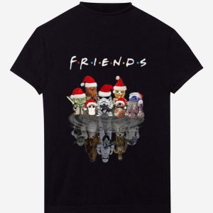 Hot Star Wars Characters Water Reflection Friends Christmas shirt