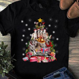 Hot Whippets Christmas Tree Xmas Gift For Whippets Dog shirt