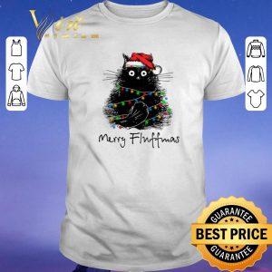 Nice Black Cat Merry Fluffmas shirt sweater