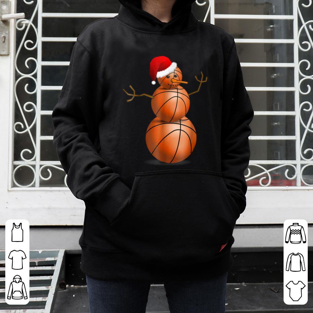 Nice Christmas Basketball Basketball Snowman shirt 4 - Nice Christmas Basketball - Basketball Snowman shirt
