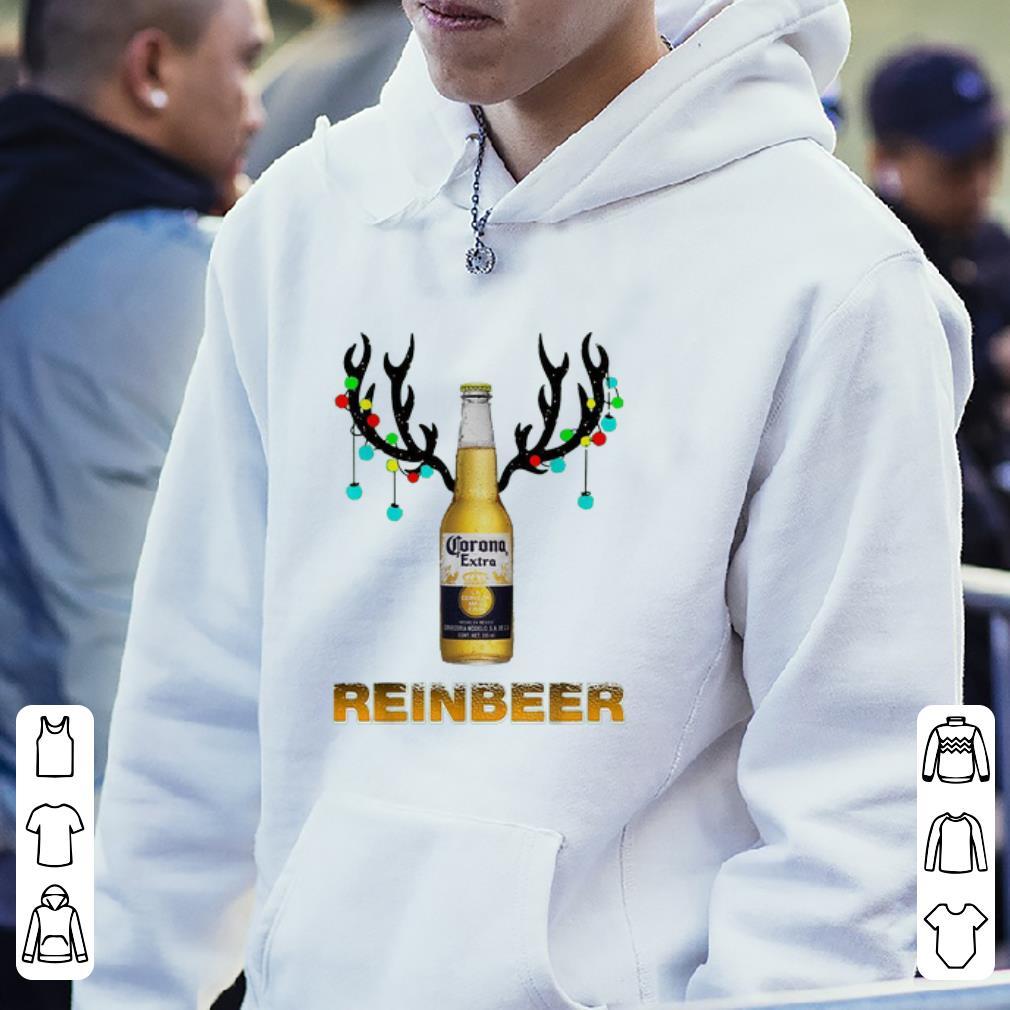 Nice Christmas Reindeer Corona Extra Reinbeer shirt 4 - Nice Christmas Reindeer Corona Extra Reinbeer shirt