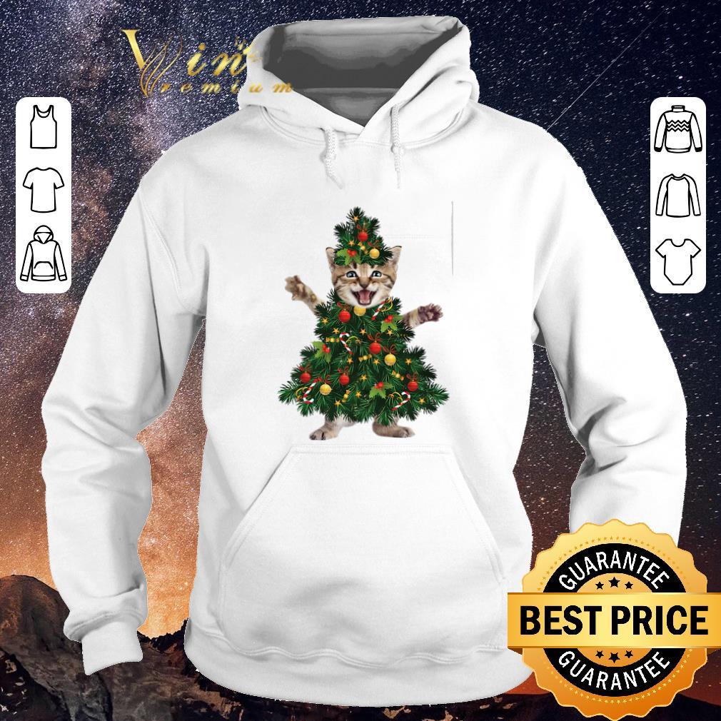 Nice Christmas tree Cat pine shirt 4 - Nice Christmas tree Cat pine shirt