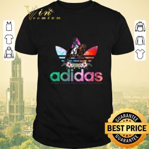 Nice Flower adidas all day I dream about dance with horse shirt sweater