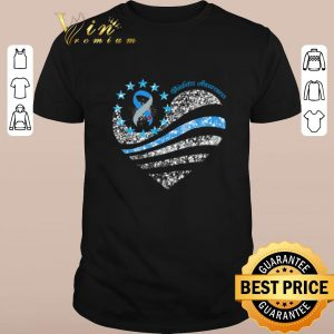 Nice Glitter Diabetes Awareness Betsy Ross heart shirt sweater 2019