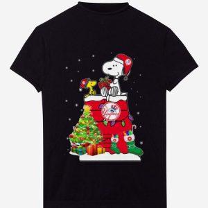 Nice New York Yankees Snoopy And Woodstock Christmas shirt