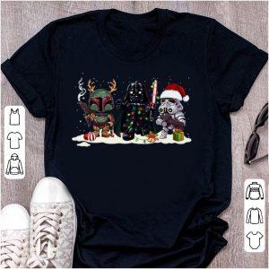 Nice Star Wars Merry Christmas Santa Hat shirt