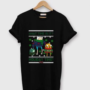 Official Adventure Time Finn And Jake Holiday Time Ugly Christmas shirt