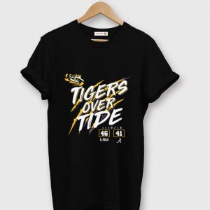 Official Lsu Tigers 46 Alabama 41 Tigers Over Tide shirt