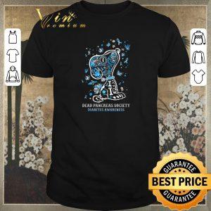 Official Snoopy Dead Pancreas Society Diabetes Awareness shirt sweater