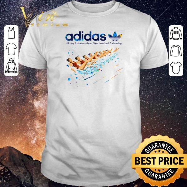 Official adidas all day i dream about Synchronized Swimming shirt sweater