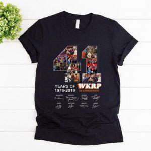 Original 41 Years Of Wkrp In Cincinnati 1978 2019 Signature shirt