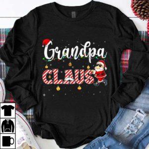 Original Cute Christmas Grandpa Santa Hat Gift Matching Family Xmas shirt