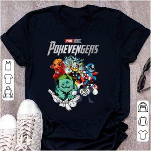 Original Marvel Avengers Endgame Poke Monvel Pokevengers shirt