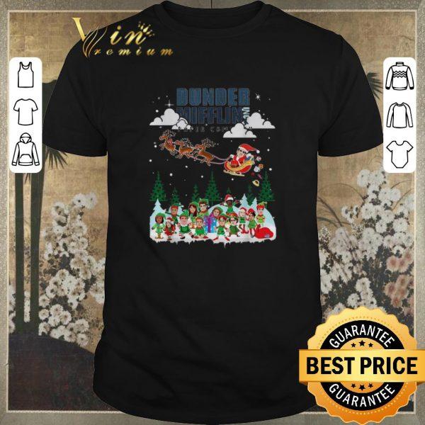 Premium Christmas Dunder Mifflin Inc paper company shirt