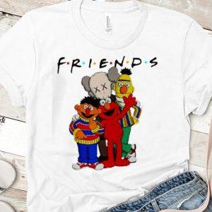 Premium Friends Kaws and Sesame Street shirt