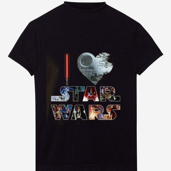Premium I love Star Wars shirt