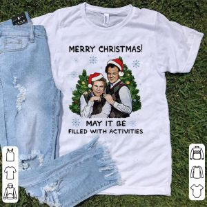 Premium Merry Christmas May It Be Filled With Activities Step brothers shirt