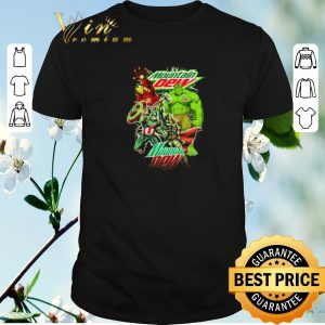 Premium Mountain Dew Avengers Marvel shirt sweater