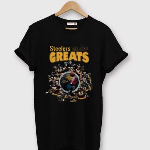 Premium Pittsburgh Steelers All-time Greats Signatures shirt