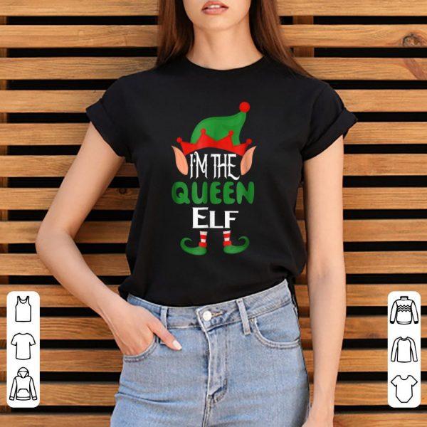 Premium Queen Elf Pjs Matching Family Group Christmas Pj Top shirt