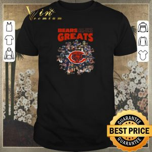 Premium Signatures Chicago Bears all time greats team players shirt