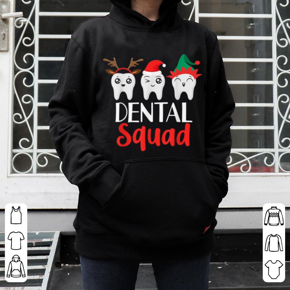 Pretty Christmas Dental Squad Hygienist Dentist Outfit shirt 4 - Pretty Christmas Dental Squad Hygienist Dentist Outfit shirt