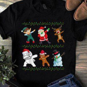 Pretty Funny Dabbing Santa Bichon Frise And Friends Christmas shirt