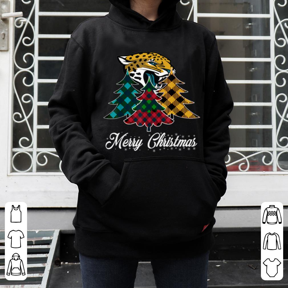 Pretty Merry Christmas Tree Football Team Jacksonville Jaguar Fan shirt 4 - Pretty Merry Christmas Tree Football Team Jacksonville-Jaguar Fan shirt